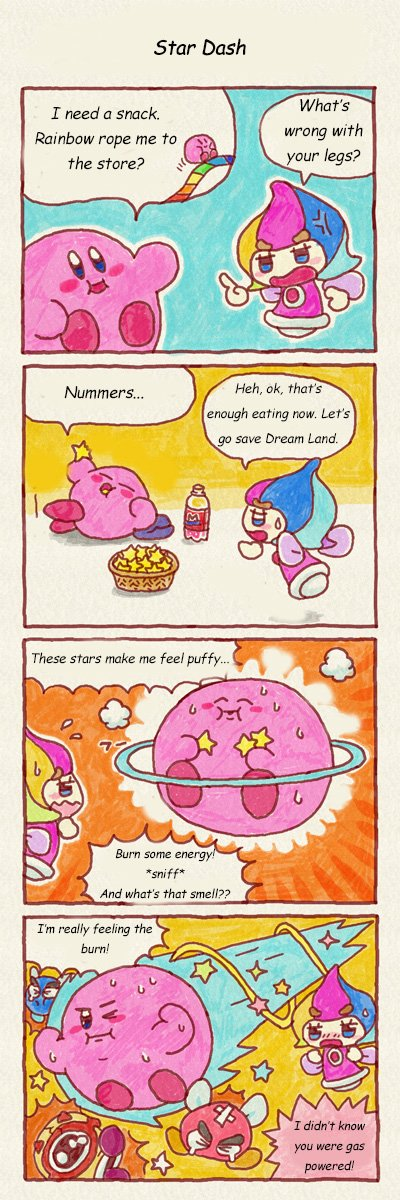 Kirby  Presents Star Dash